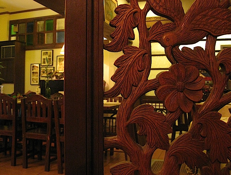 interior of Adarna Food and Culture