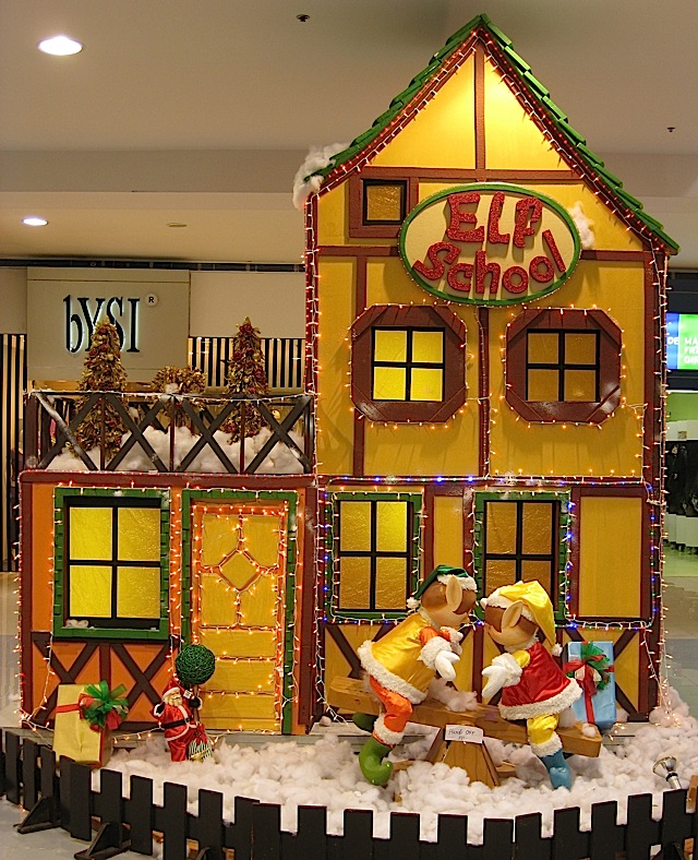 Elf School at the Christmas Village in The Block at SM City North EDSA