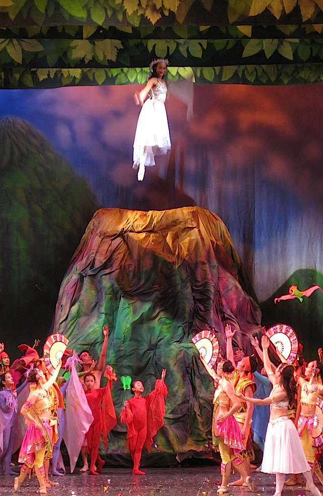 Ballet Manila's production of Alamat: Si Sibol at Si Gunaw