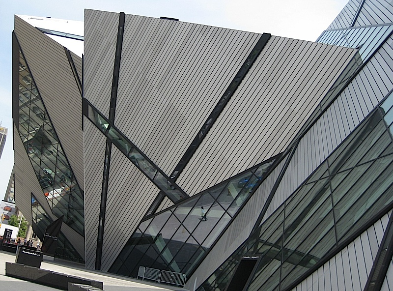 the Michael Lee-Chin Crystal wing of the Royal Ontario Museum
