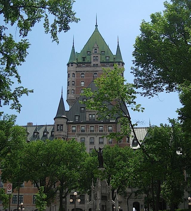 Château Frontenac, Quebec City
