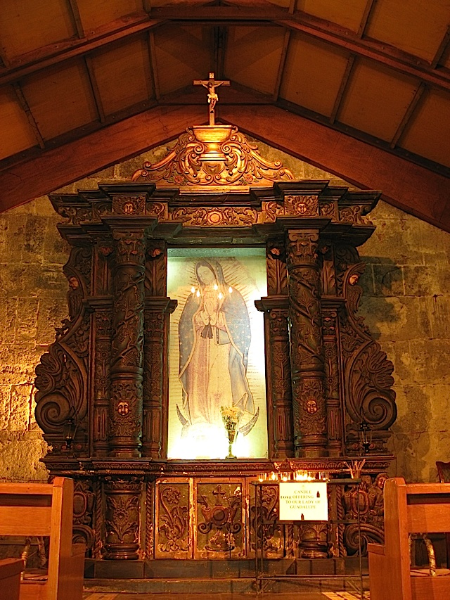 shrine of Our Lady of Guadalupe in Fort Santiago