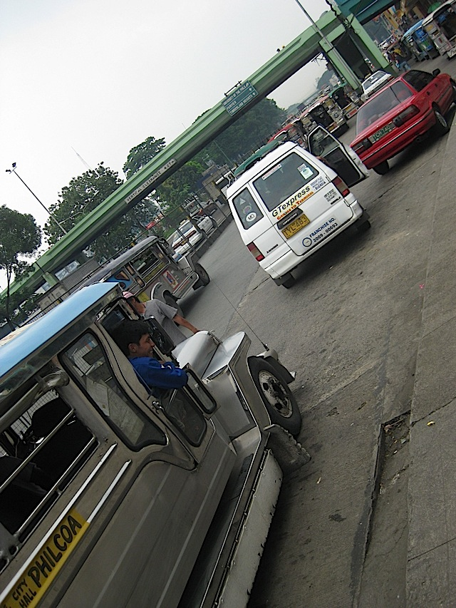 jeepneys at Philcoa