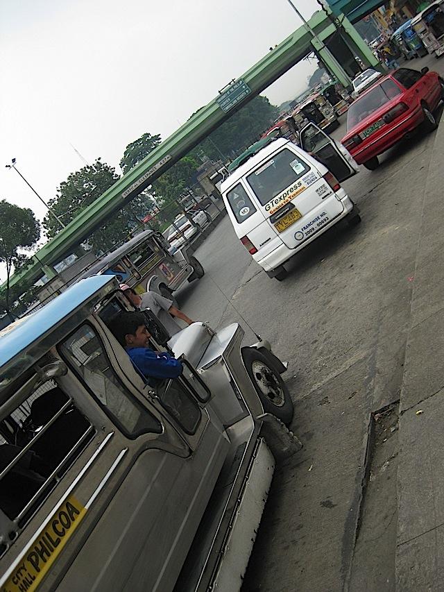 jeepneys at Philcoa
