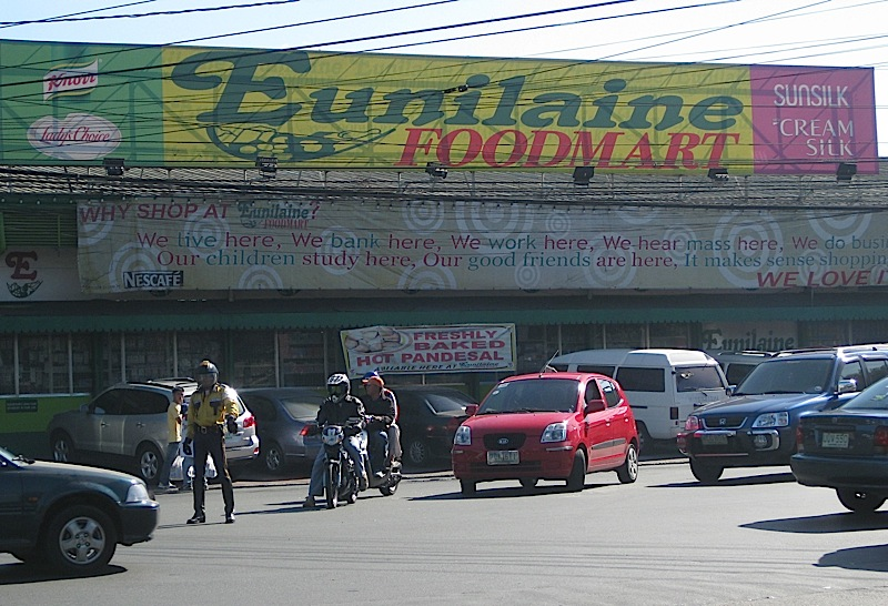 Eunilaine Foodmart along Kalayaan Avenue in Quezon City