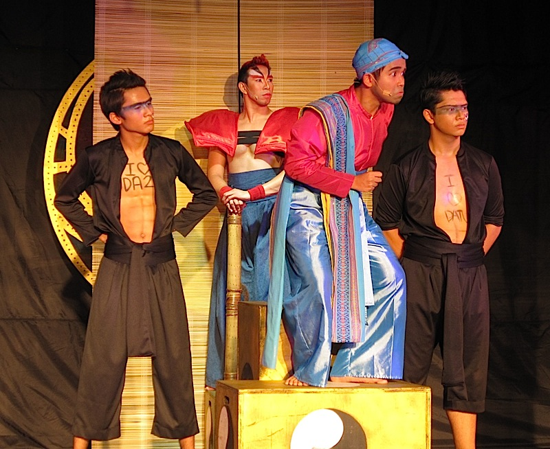 the corrupt Datu Usman in the play 'Si Pilandok at ang Bayan ng Bulawan'