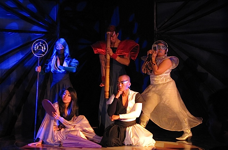 the five gods in the play 'Si Pilandok at ang Bayan ng Bulawan'