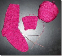 Summer Lovin Sock - started Sock 2