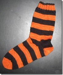 Halloween Sock - String Theory