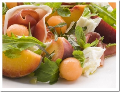 learninghowtocook.comMelon%20peach%20and%20proscuitto%20salad