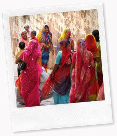 India-saris