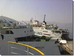 Appena imbarcato