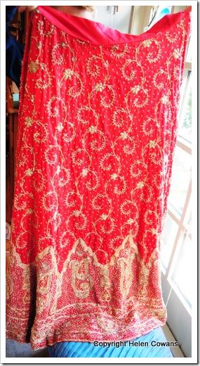 red skirt4