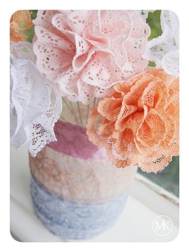 Lace flower bouquet 4