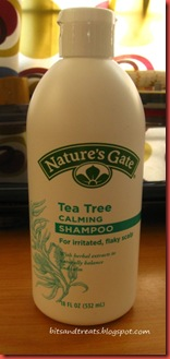 nature's gate tea tree calming shampoo. by bitsandtreats
