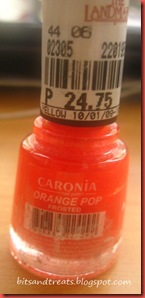 caronia orange pop, by bitsandtreats