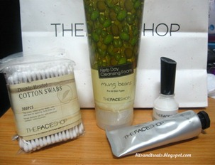 the face shop haul, by bitsandtreats