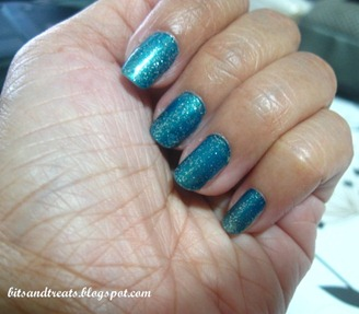 NOTD dare to sparkle, by bitsandtreats
