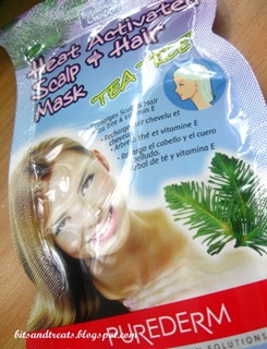 purederm heat activated scalp and hair mask, by bitsandtreats