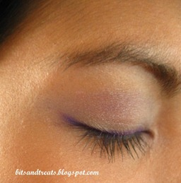 purple and blue eotd, by bitsandtreats
