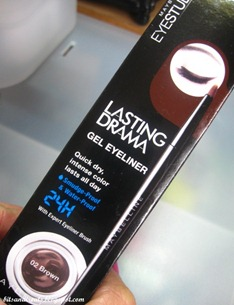 maybelline eyestudio lasting drama gel eyeliner, by bitsandtreats