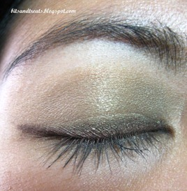 maybelline and nichido EOTD, by bitsandtreats
