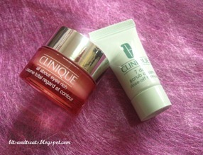clinique all about eyes rich and 7-day scrub cleanser, by bitsandtreats