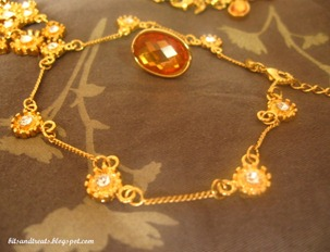 avon anklet, by bitsandtreats