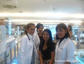 the best clinique beauty specialists ever, by bitsandtreats