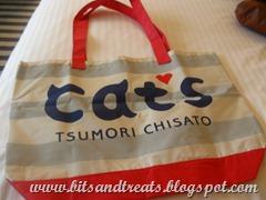 tsumori chisato cats bag, by bitsandtreats
