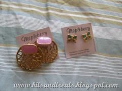 mapleberry earrings, by bitsandtreats