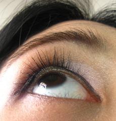 anna sui mascara on my lashes, by bitsandtreats