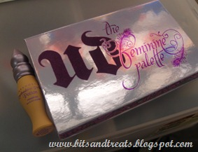 urban decay the feminine palette, by bitsandtreats