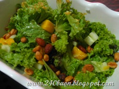 almost carribean salad, by 240baon