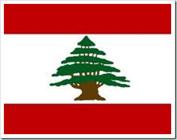lebanese flag