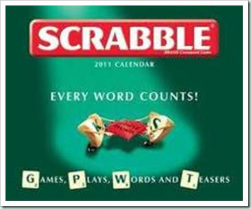 scrabble calendar