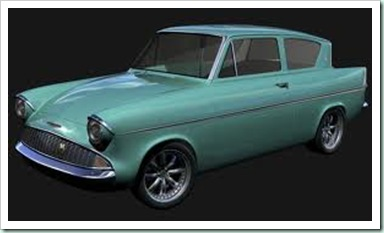 ford anglia 105