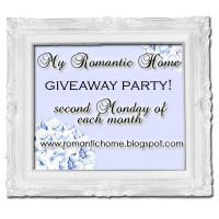 My Romantic Home Giveaway