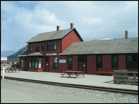 Carcross-Train-Station