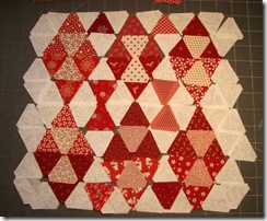 red white diamond patches