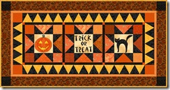 Halloween tablerunner 1
