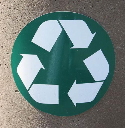 símbolos de reciclaje