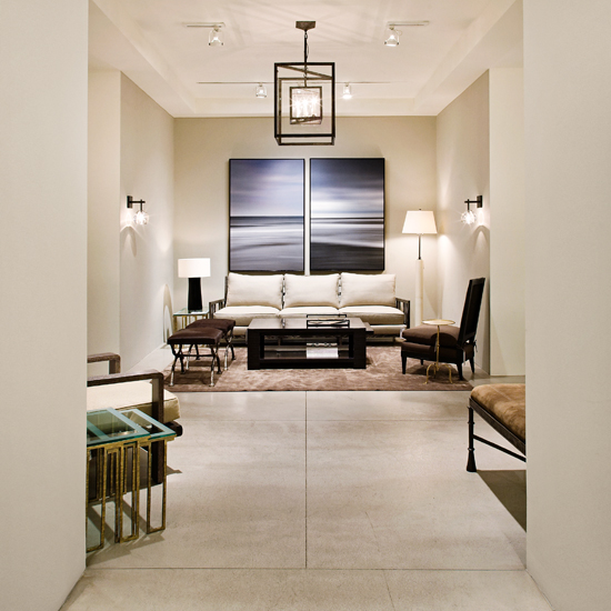 The Holly Hunt Showrooms In LA And New York Are Just Perfect I Think.. They  Seem To Be Screaming Greige At Me.