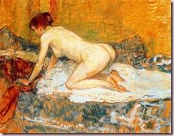 Toulouse-Lautrec_donna_dai_capelli_rossi_accosciata