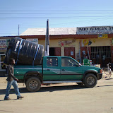 watertank halen in Tanzania