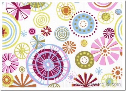 Candy Carnival Fabric Sample, Crop