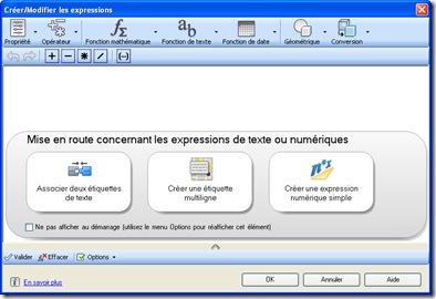 Crée Modifier les expressions 2