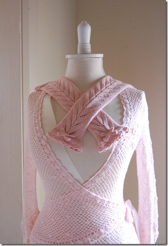 APRICOT MITTS AND BUTTERFLY CARDI