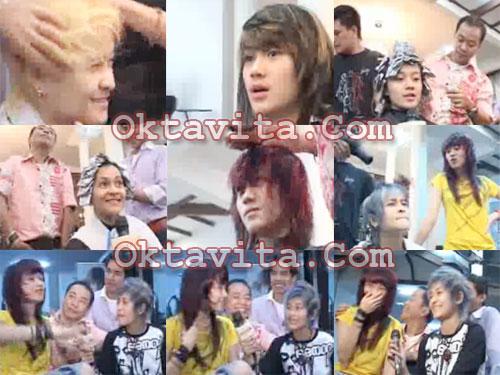 Mitha dan Dara Warnai Rambut