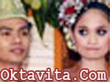 Refti Ayu Natasya dan Wendy Cagur Menikah